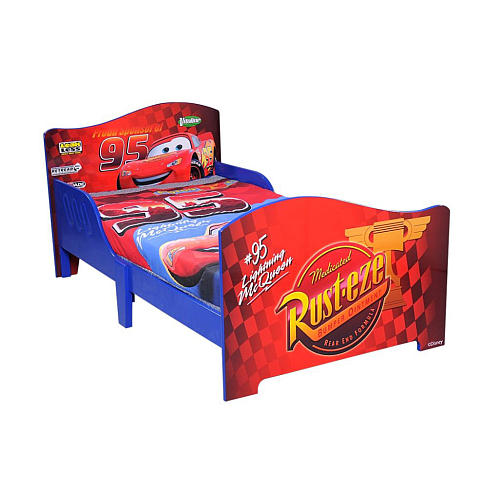 cars toddler bed wood photo - 2