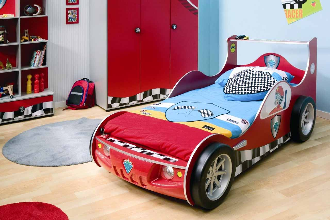 cars toddler bed wood photo - 6
