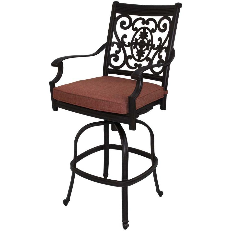 cast aluminum bar stools photo - 3