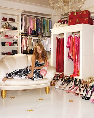 celebrity walk in closet design photo - 2