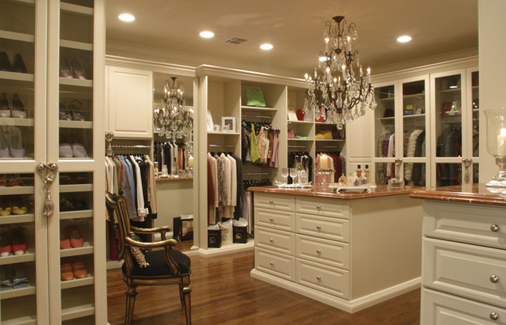 celebrity walk in closet design photo - 3