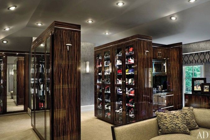 celebrity walk in closet design photo - 4