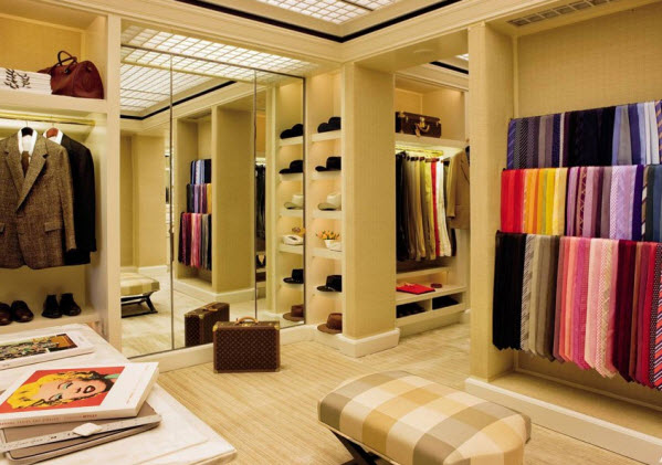 celebrity walk in closet design photo - 5