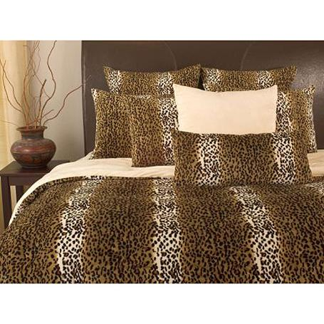 cheetah print bedroom set photo - 5