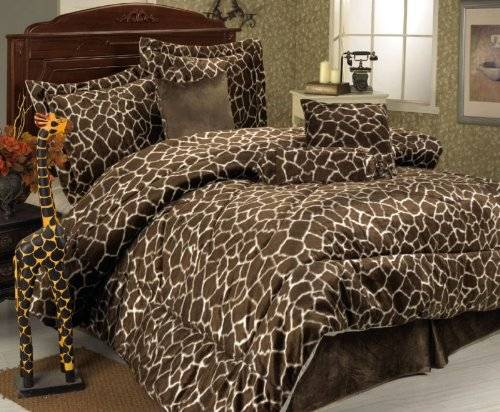 cheetah print bedroom set photo - 6