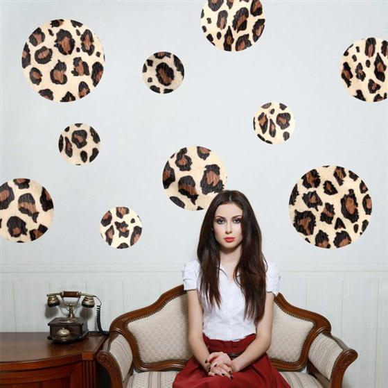 cheetah print bedroom theme photo - 5