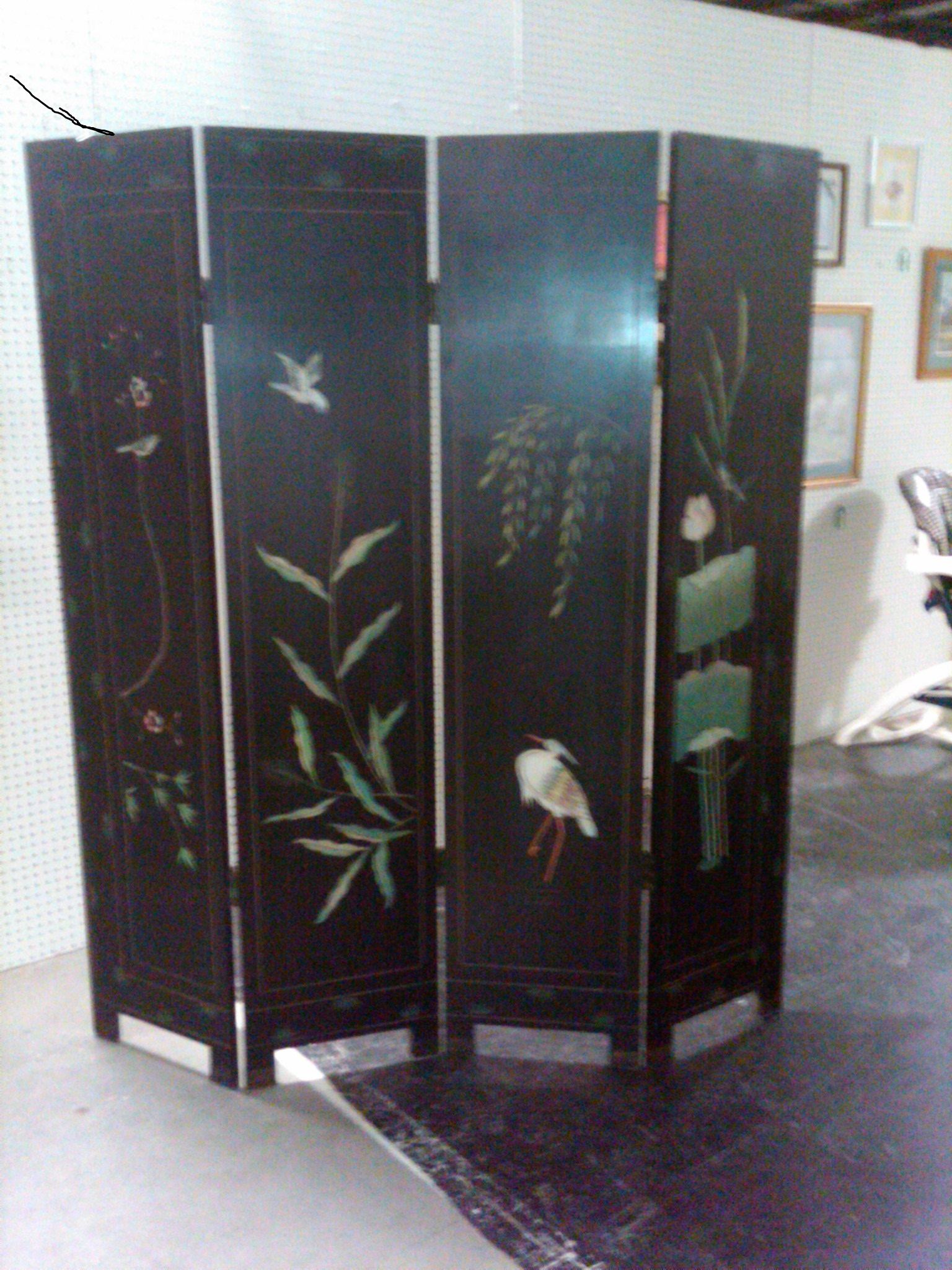chinese sliding room dividers photo - 1
