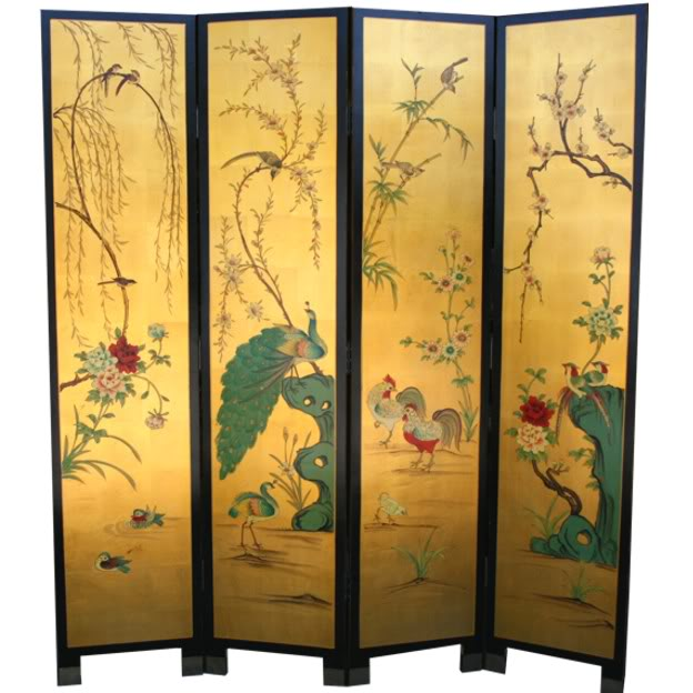 chinese sliding room dividers photo - 2