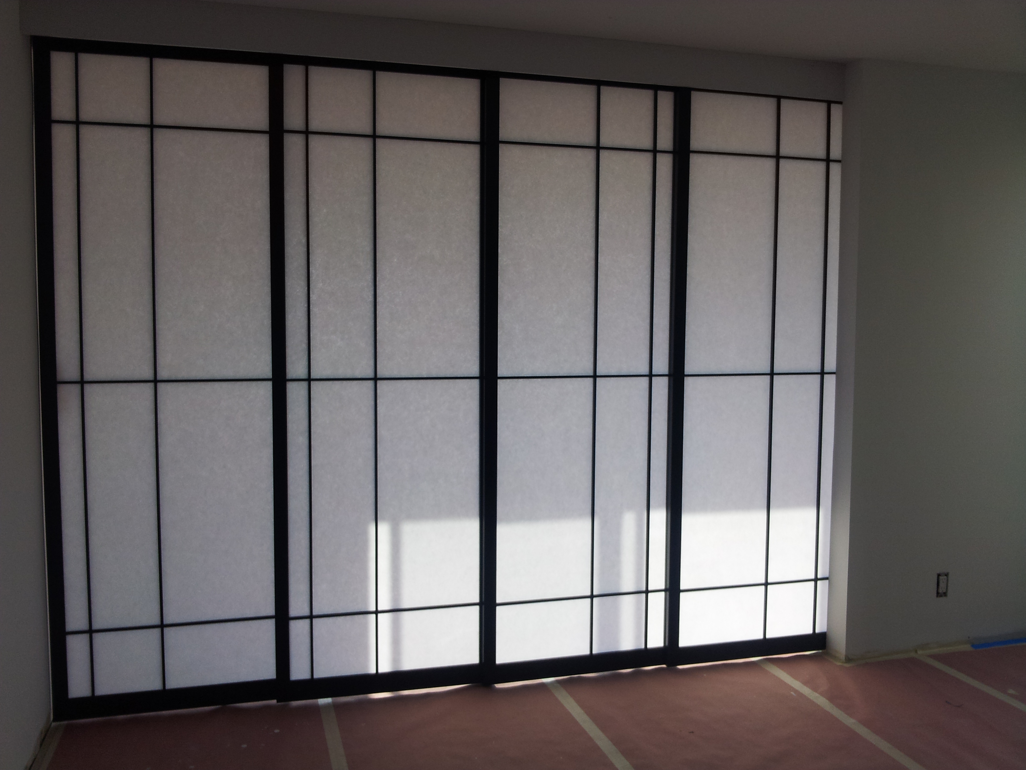 chinese sliding room dividers photo - 3