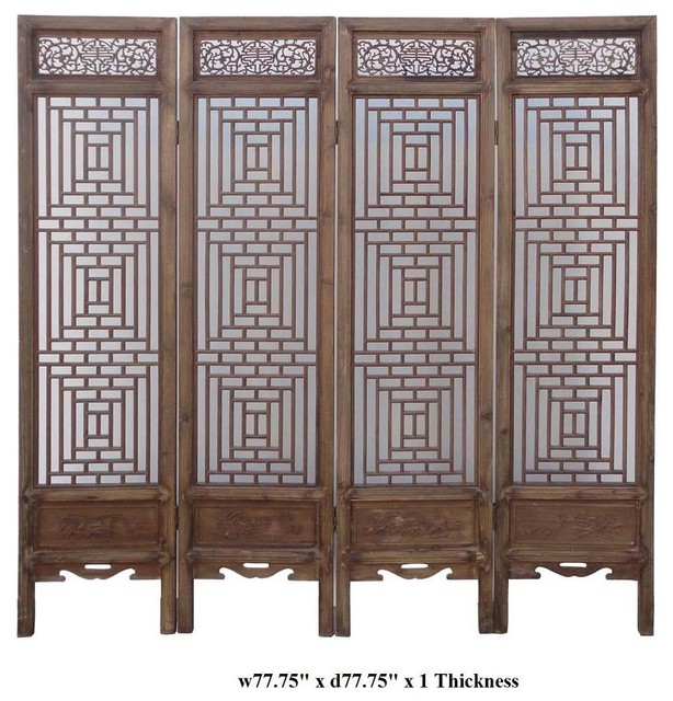 Chinese wall room dividers Interior Exterior Doors