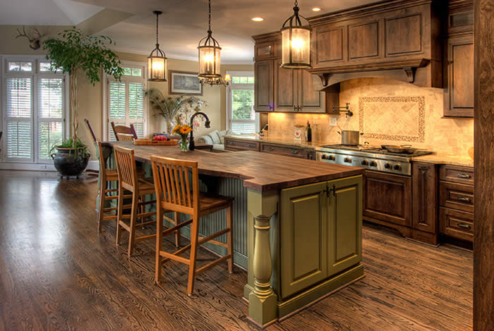 classic country kitchen designs photo - 4