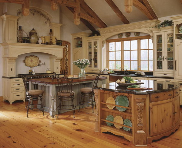 classic country kitchen designs photo - 6
