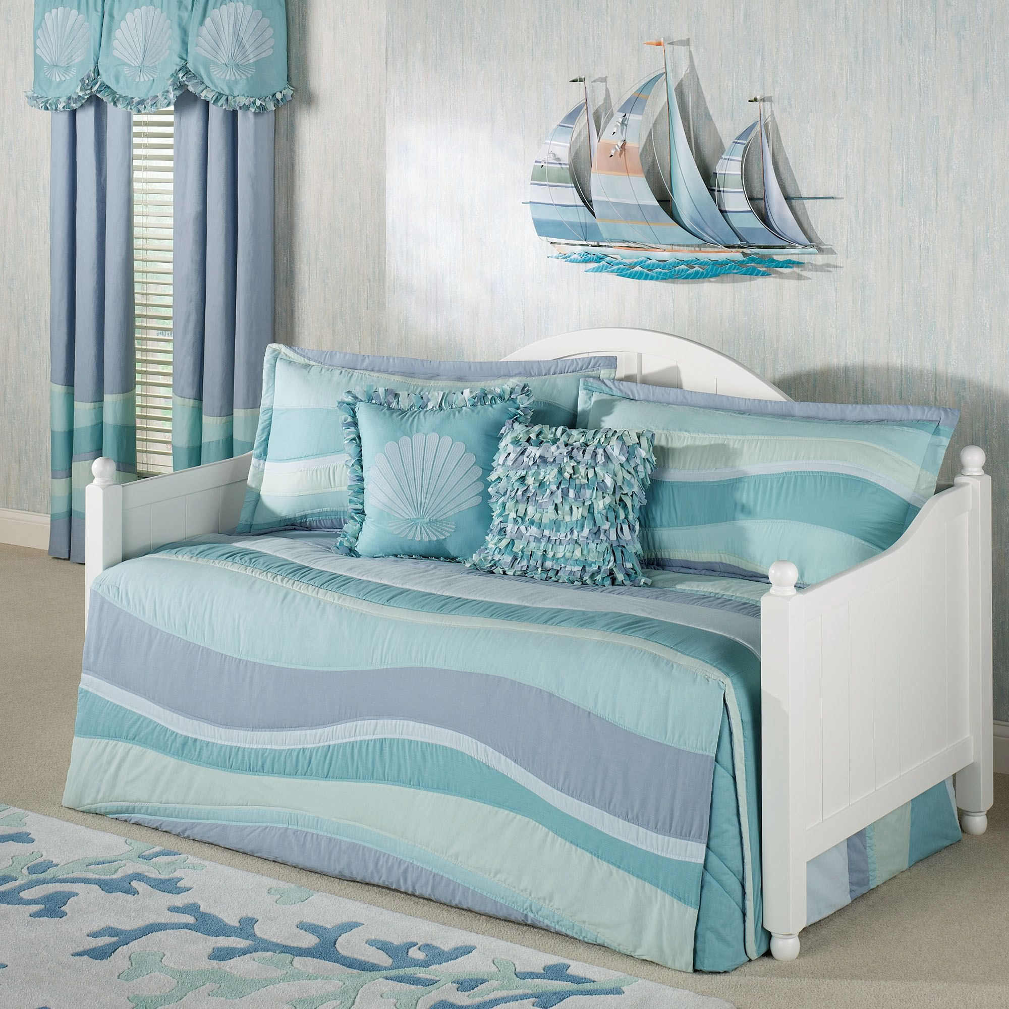 coastal daybed bedding sets photo - 1