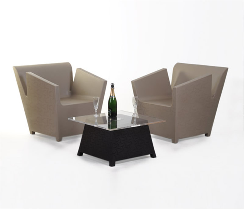 coffee table and chair design photo - 6