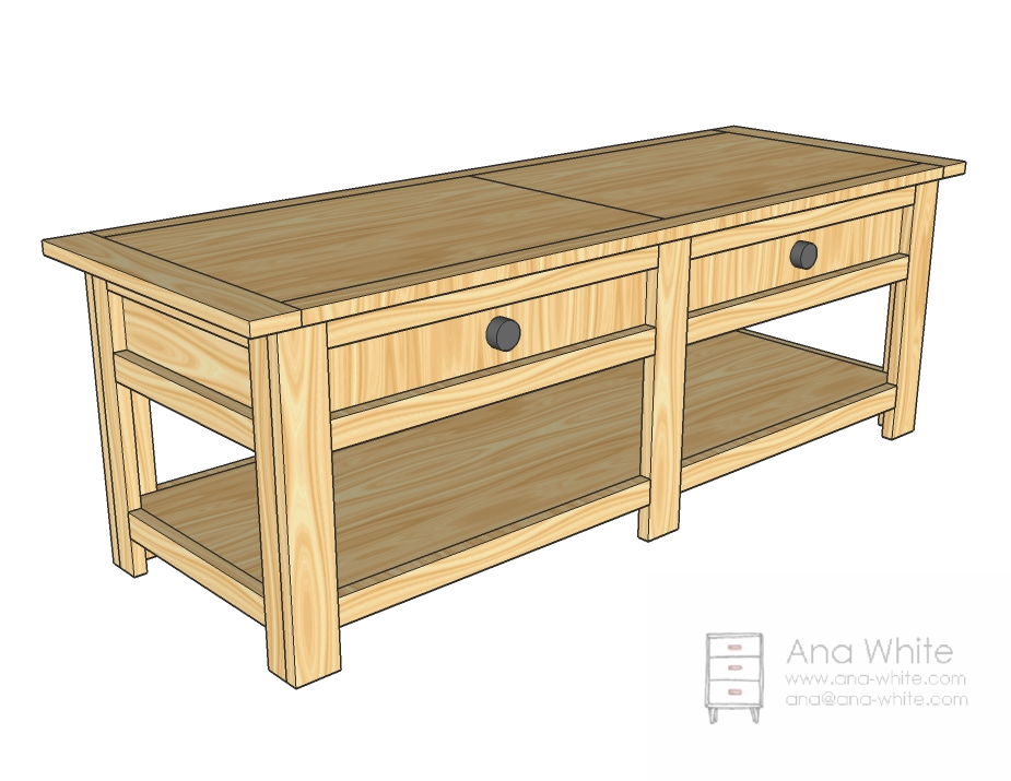 coffee table design plan photo - 3
