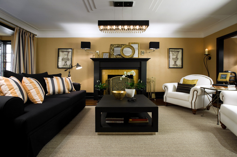 colin and justin living room designs photo - 4