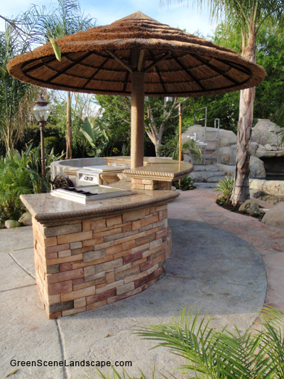 concrete outdoor bar designs photo - 2