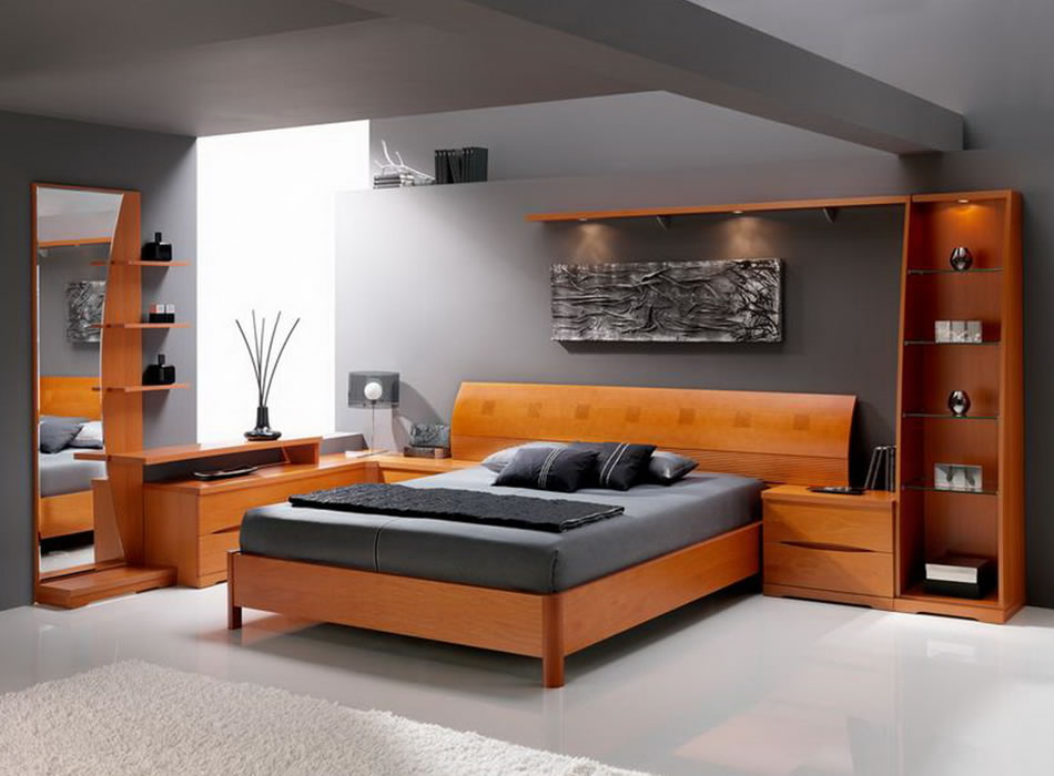 contemporary bedroom furniture designs photo - 1
