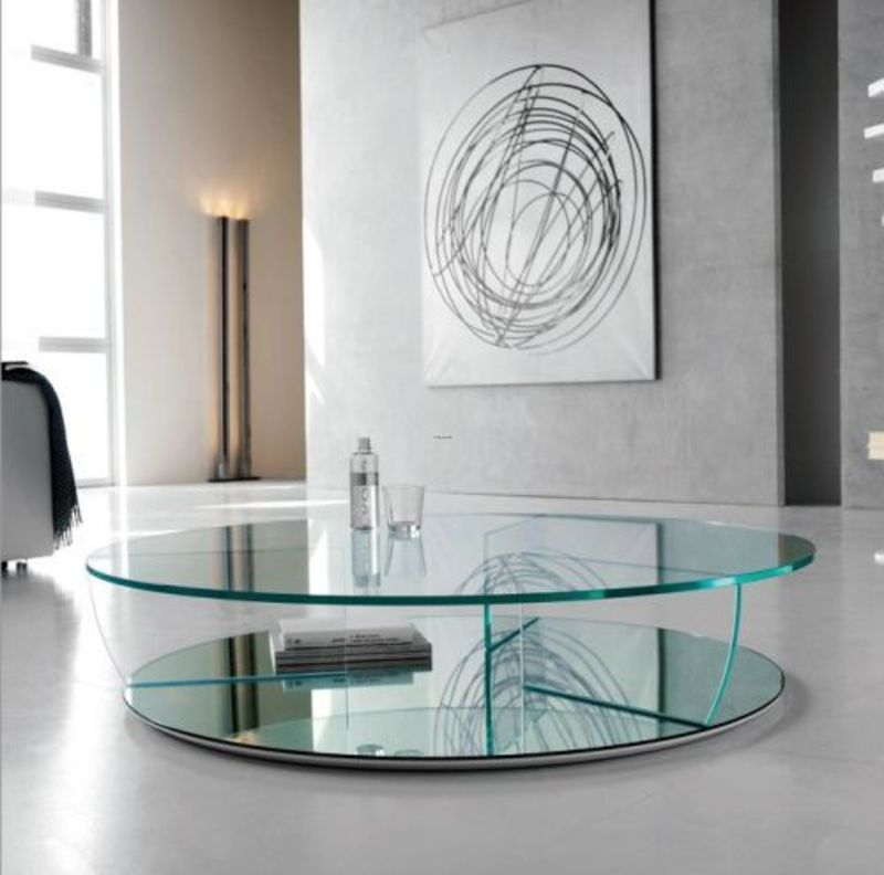 contemporary coffee tables glass photo - 3