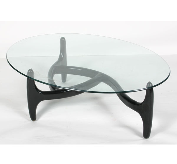 contemporary coffee tables glass top photo - 1