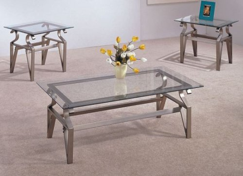 contemporary coffee tables sets photo - 1