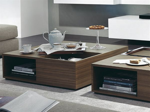 contemporary coffee tables sets photo - 6