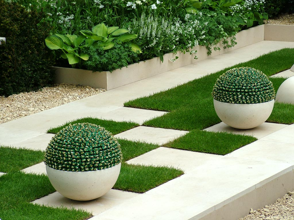 contemporary garden design ideas photos photo - 1