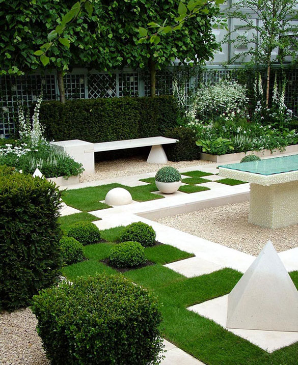 contemporary garden design ideas photos photo - 3