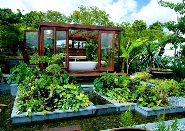 contemporary garden design ideas photos photo - 5