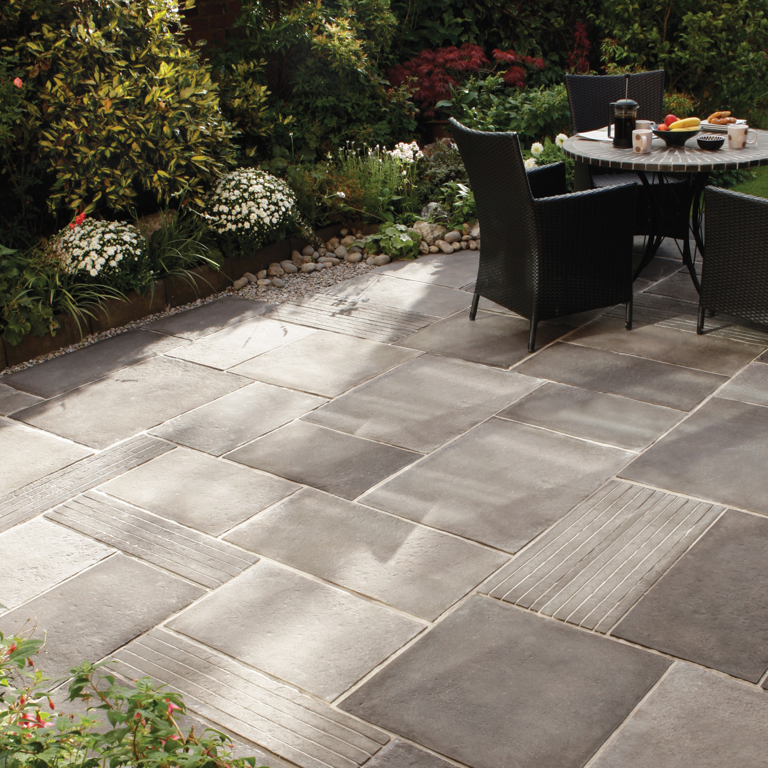 Adding Pavers To Concrete Patio Decorate Contemporary Garden Paving Ideas Interior Exterior Doors