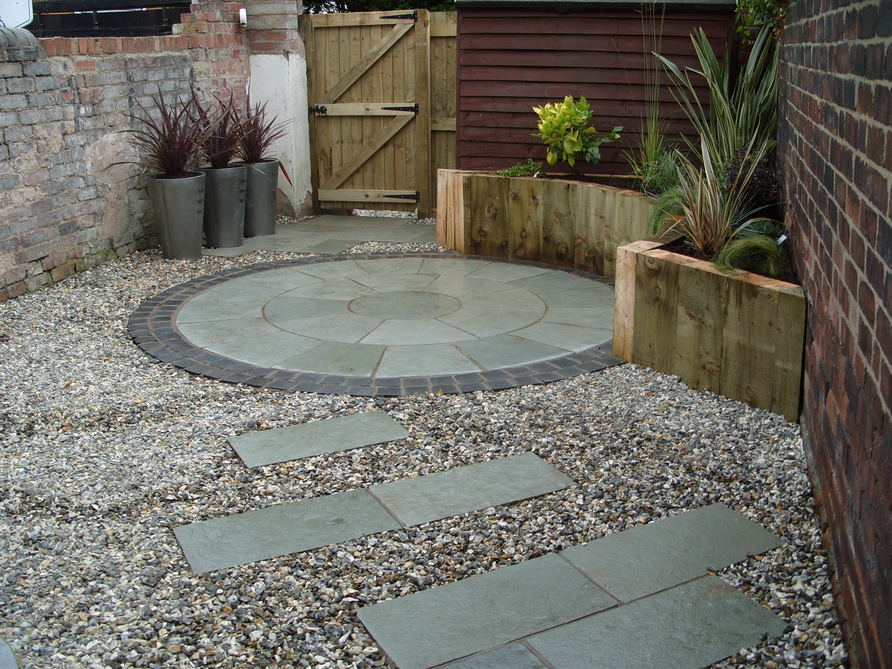 contemporary garden paving ideas | interior & exterior doors