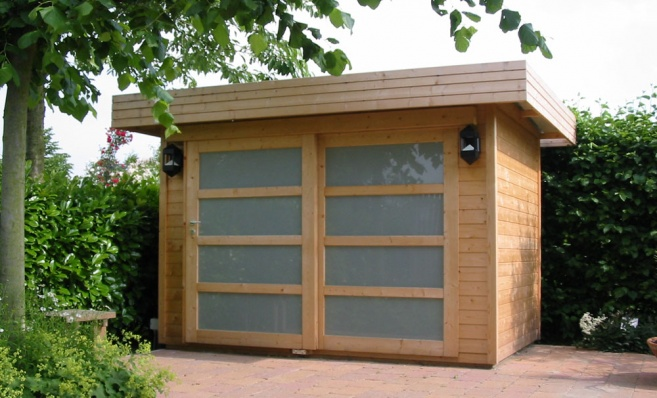 contemporary garden shed plans photo - 5