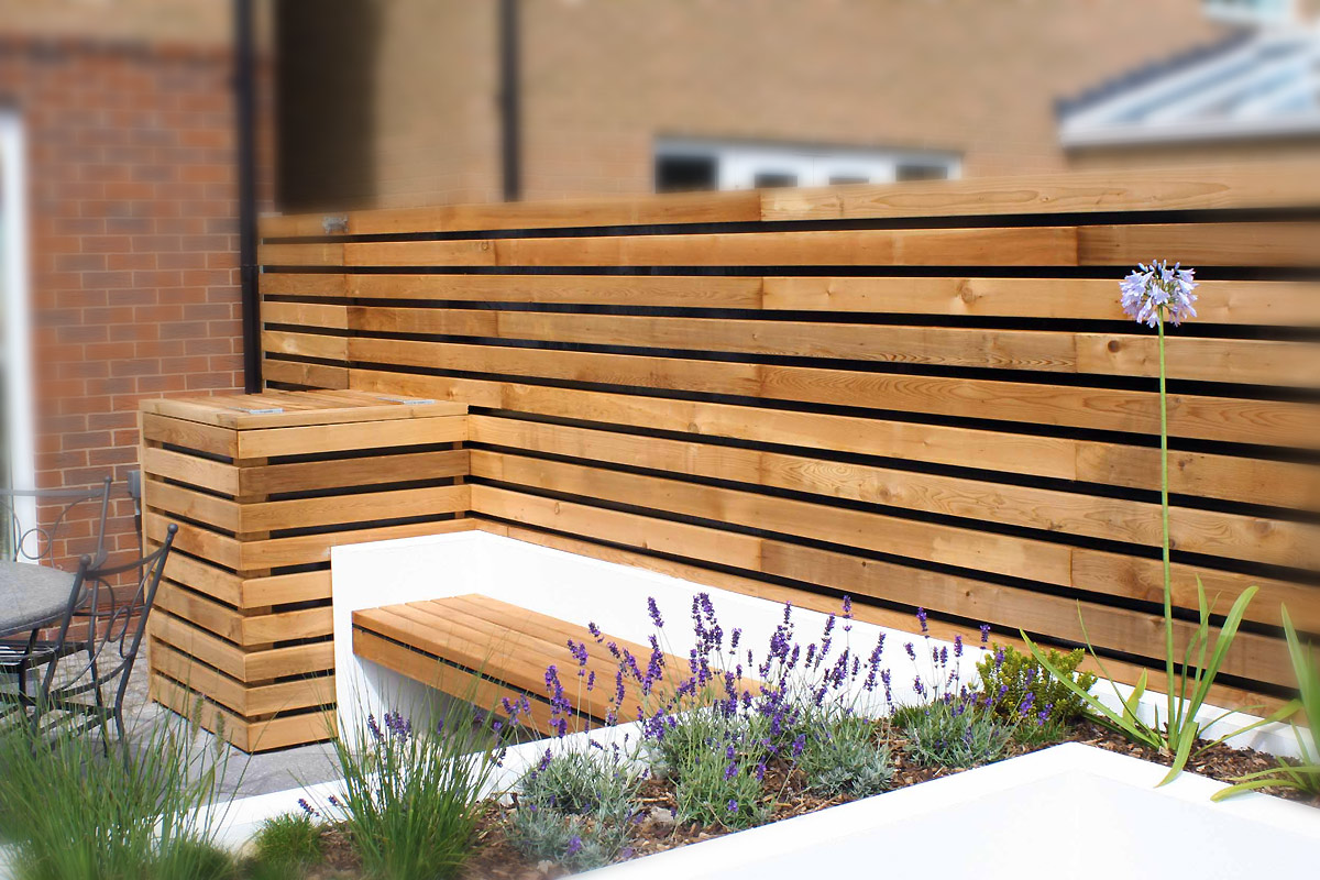 contemporary garden wall ideas photo - 2