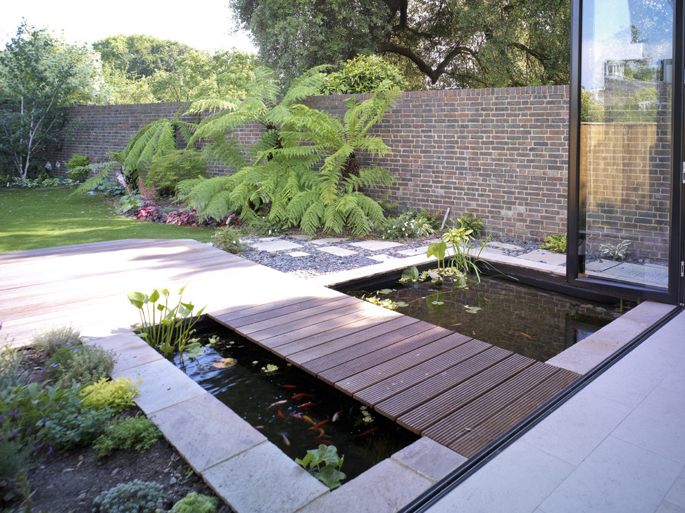 contemporary garden wall ideas photo - 4