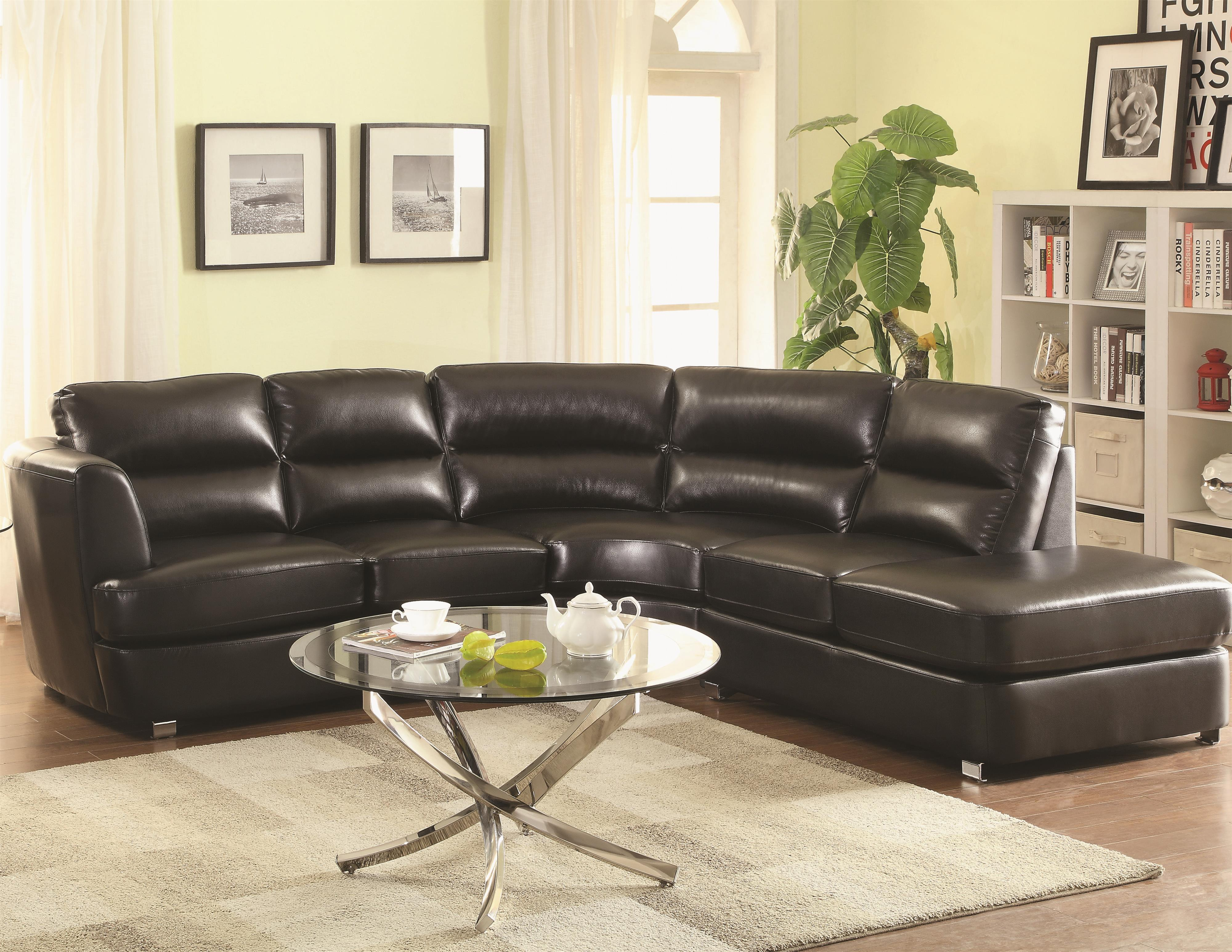 contemporary sectional sofas with chaise photo - 5