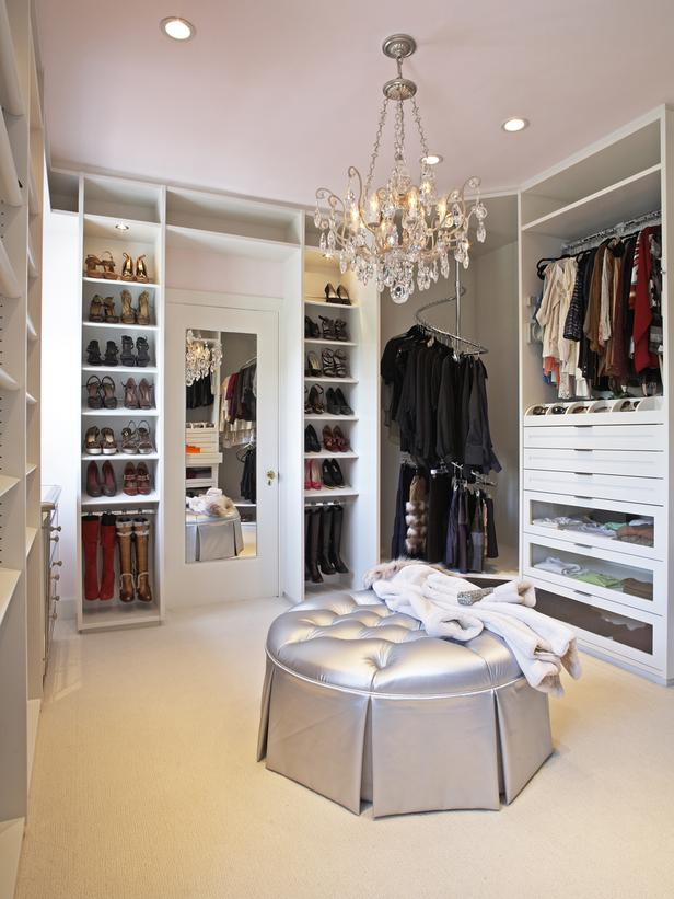 Contemporary walk in closet ideas for both men and women for Design your own walk in closet