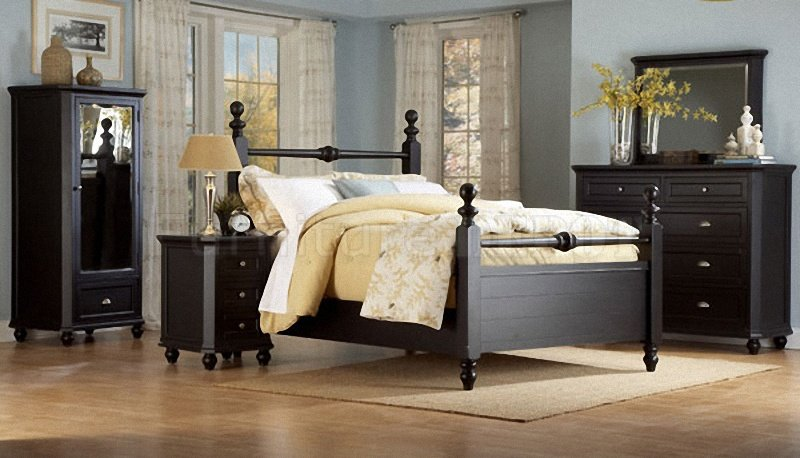 Cottage Bedroom Furniture Black