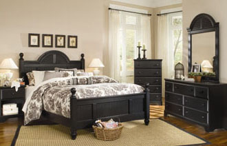 Cottage Bedroom Furniture Black Photo   5