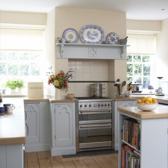 Country cottage kitchen designs - make a lively and liveable ...