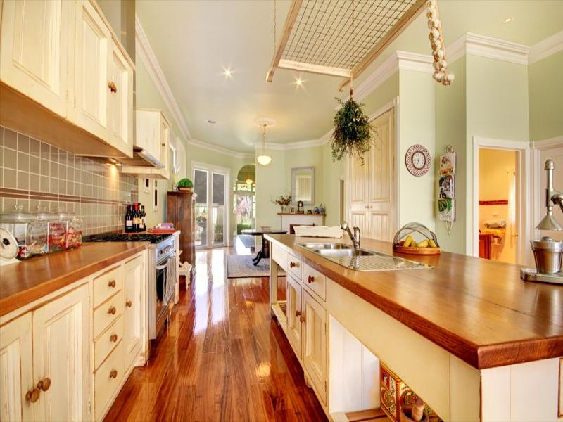 country galley kitchen designs photo - 1