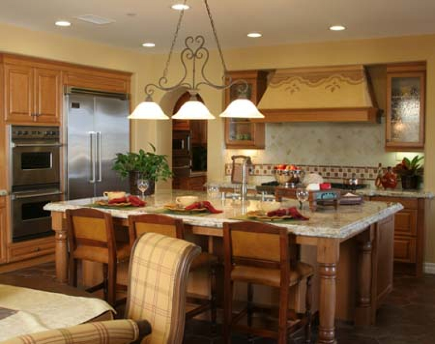 country galley kitchen designs photo - 2