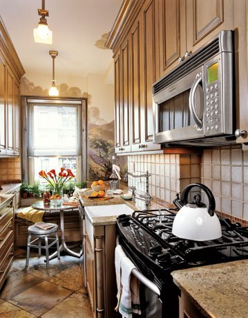 country galley kitchen designs photo - 6