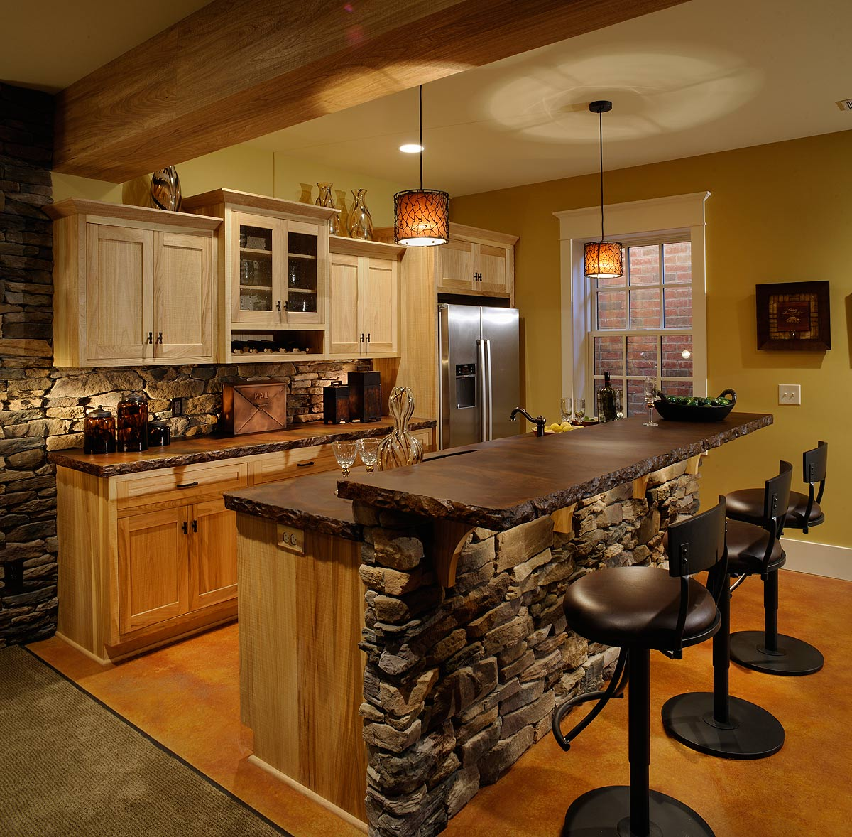 American Country Kitchen Ideas