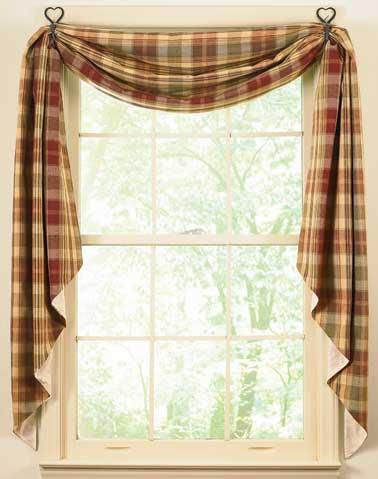 country kitchen curtain designs photo - 1