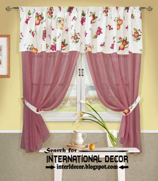 country kitchen curtain designs photo - 6