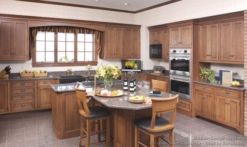 country kitchen designs with islands photo - 3
