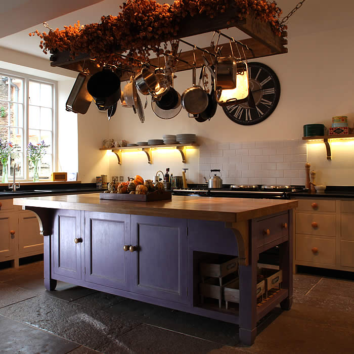 country kitchen designs with islands photo - 4