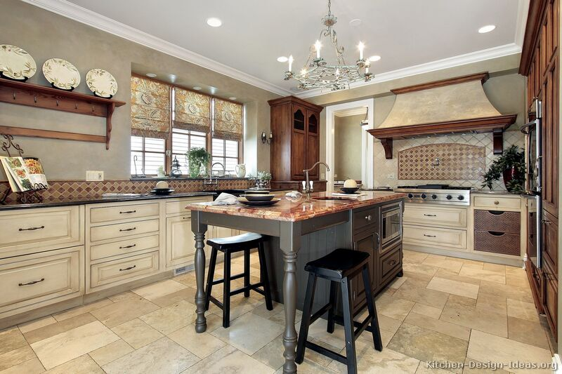 country kitchen designs with islands photo - 6