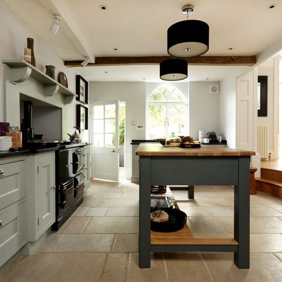 Country Kitchen Flooring Pictures Photo 1