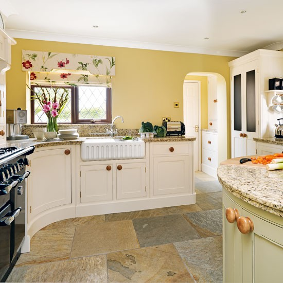 Country Kitchen Flooring Pictures Interior Exterior Doors - Country kitchen tiles